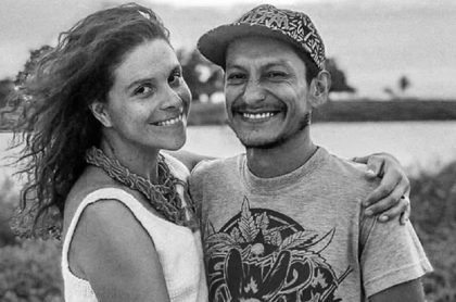 Natalia Jiménez y Rodrigo Monsalve