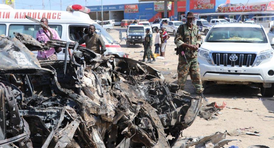 Carro bomba Somalia