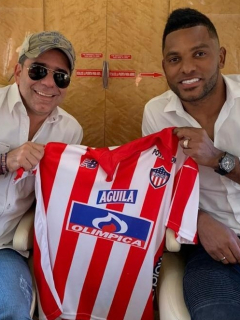 Alejandro Char y Miguel Ángel Borja