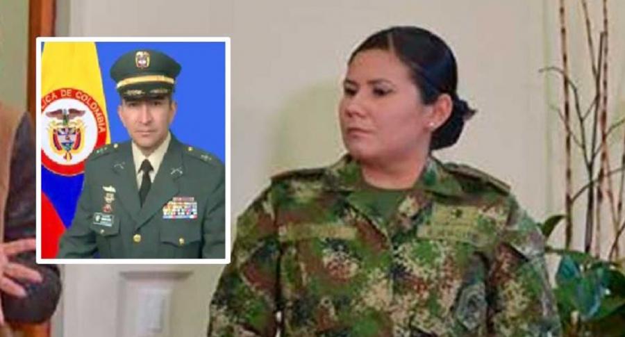 General Hernando Garzón y capitana Maritza Soto