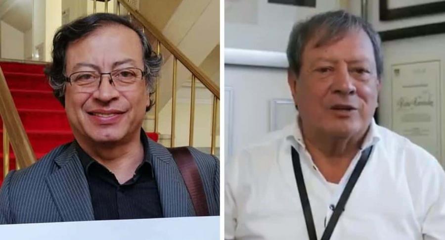 Gustavo Petro y Mario Hernández