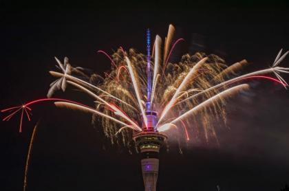 Año Nuevo en Nueva Zelanda.