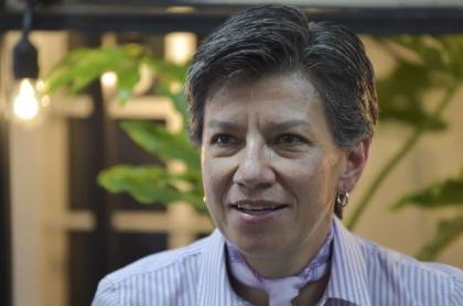 Claudia López, alcaldesa.