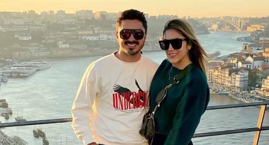 Harold Jiménez y Daniela Ospina