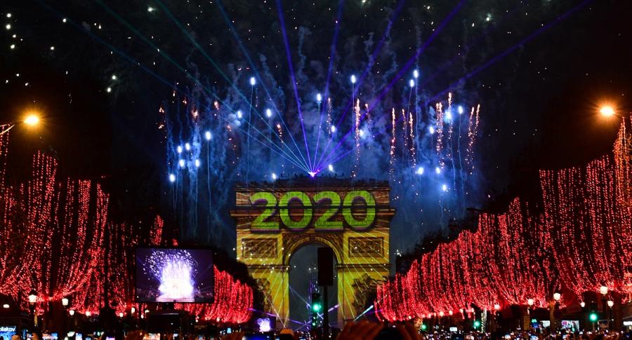 Año Nuevo 2020 en Francia