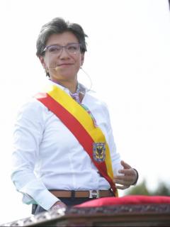 Personera le 'jala las orejas' a López; dice que no puede minimizar impacto de marchas