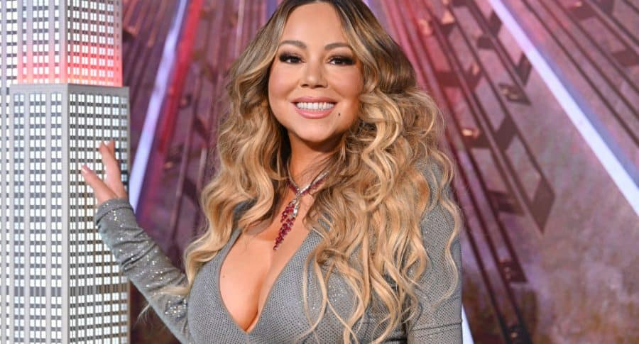 Mariah Carey, cantante.