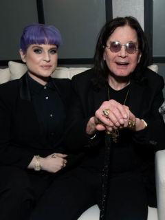 Ozzy Osbourne y familia