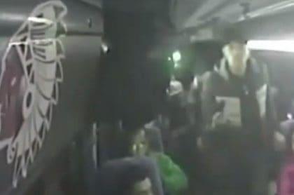 Asalto en bus intermunicipal