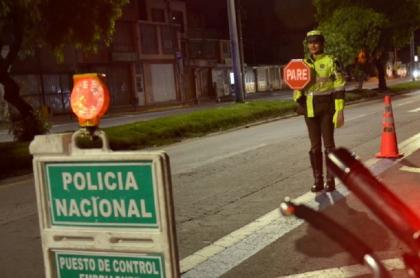 Puesto de control policial