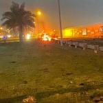 Bombardeo en Bagdad