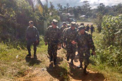 Militares en el Chocó