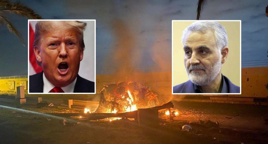 Bombardeo, Donald Trump y Qasem Soleimani