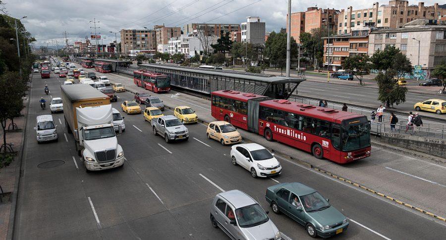 Vehículos en Bogotá