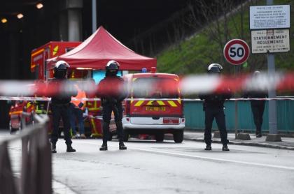 Ataque con cuchillo en Francia