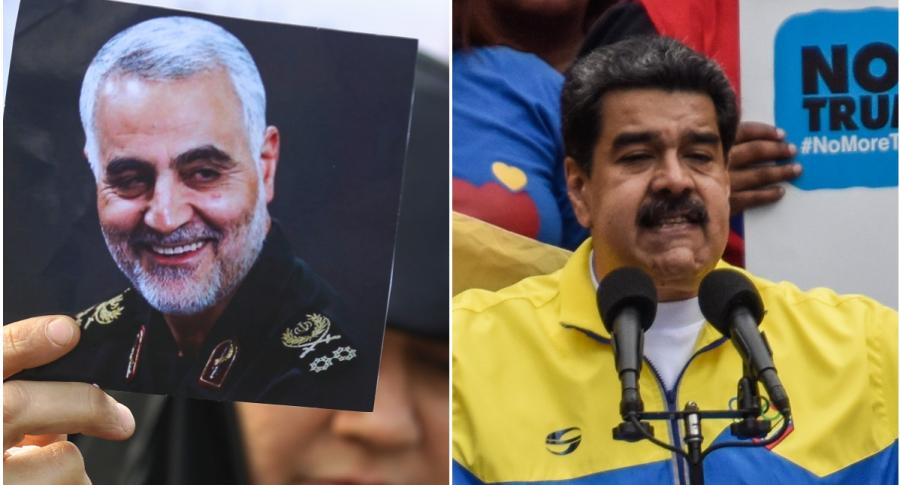 Soleimani / Nicolás Maduro