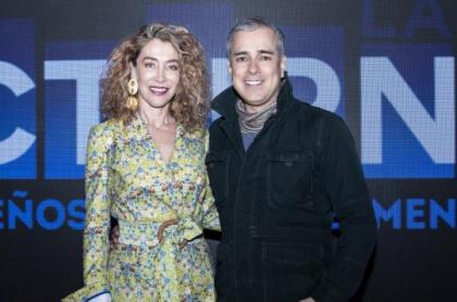 Marcela Carvajal y Jorge Enrique Abello