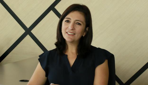 Gloria Ortiz, presidenta de la Corte Constitucional.