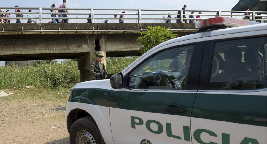 Frontera de Colombia con Venezuela.