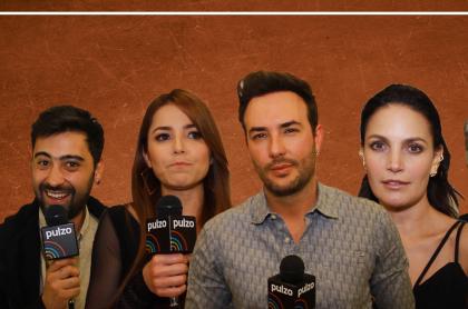 Variel Sánchez, Juliette Pardau, Sebastián Martínez, Juliana Glavis y Luis Eduardo Arango