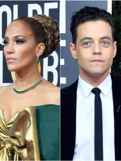 Jennifer Lopez, Rami Malek y Kirsten Dunst