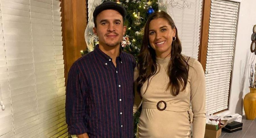Alex Morgan embarazada