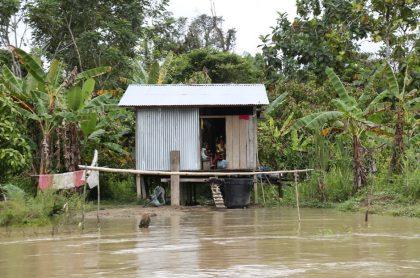 Río en Bojayá.
