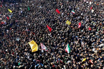 Sepelio de Qasem Soleimani