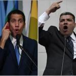 Juan Guaidó y Luis Parra