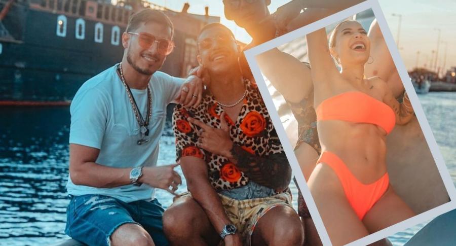 Pipe Bueno, Manuel Medrano y Luisa Fernanda W