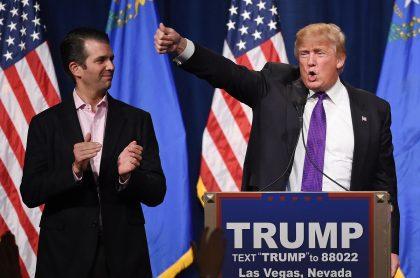 Donald Trump Jr. Y Donald Trump