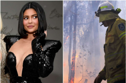 Kylie Jenner / Incendios en Australia