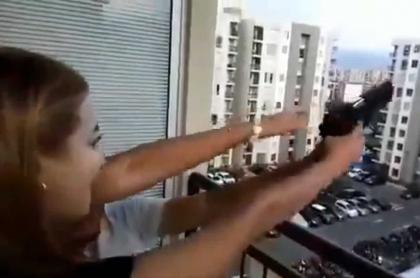 Irresponsables dispararon al aire en Cali