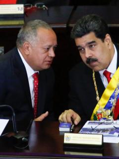 Jaime Bayly, Diosdado Cabello y Nicolás Maduro