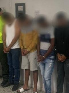 Confesos delincuentes que participaron en el asesinato del fiscal