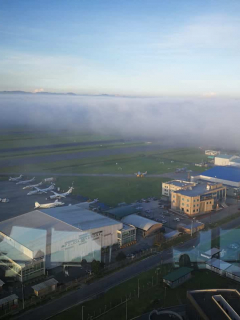Aeropuerto El Dorado.