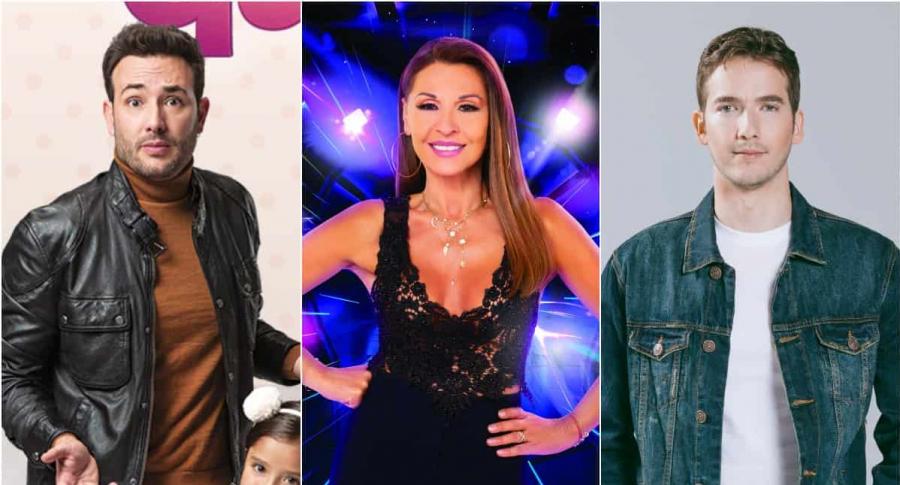 Sebastián Martínez ('Pa' quererte'), Amparo Grisales ('Yo me llamo') y Carlos Torres ('Amar y vivir')