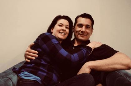 Michael Lee y Angela Peang
