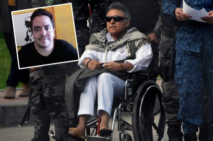 Seuxis José Hernández y su papá, 'Jesús Santrich'