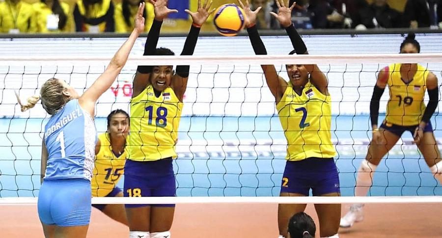 Selección Colombia de Voleibol vs. Argentina