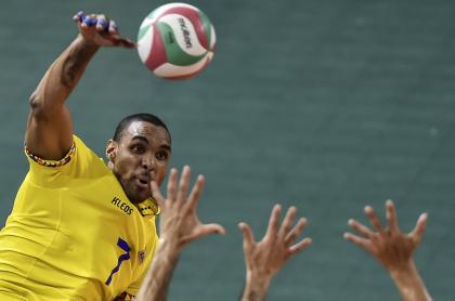 Selección Colombia de voleibol; Líberman Agámez