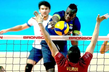 Selección Colombia de voleibol vs. Venezuela