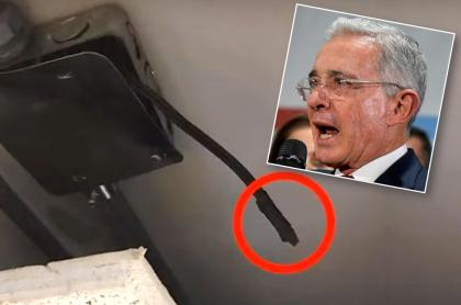 Micrófono oculto y Álvaro Uribe
