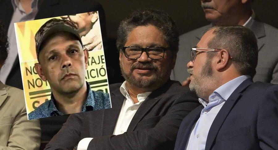 Alias 'el Paisa', 'Iván Márquez' y 'Timochenko'