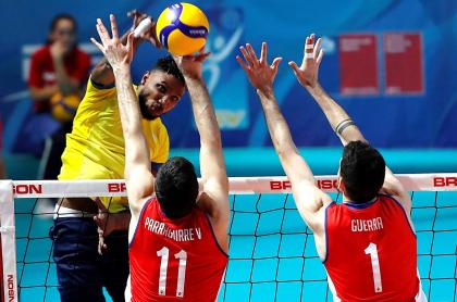 Selección Colombia de voleibol vs. Chile