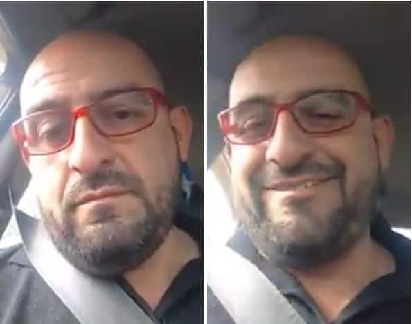 Fredy Contreras, autoproclamado líder de taxista