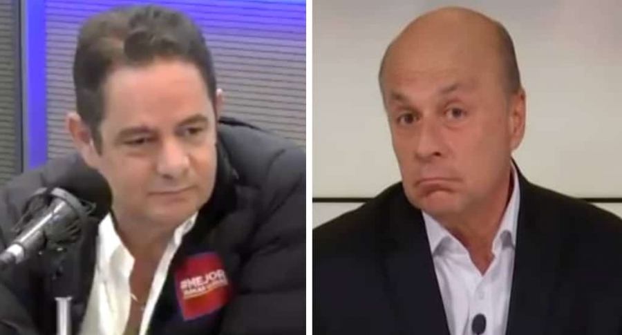 Germán Vargas Lleras y Carlos Antonio Vélez