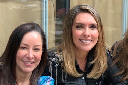 Flavia Dos Santos, Mónica Rodríguez y Catalina Gómez