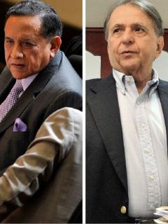 Miguel Maza Márquez y Alberto Santofimio