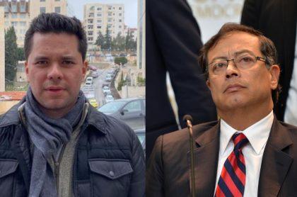 Luis Carlos Vélez y Gustavo Petro